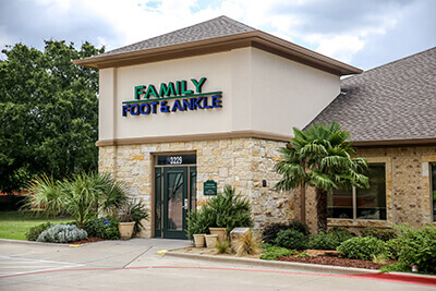podiatry office in corsicana tx