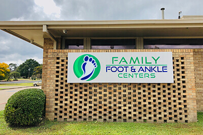 podiatry office in ennis tx