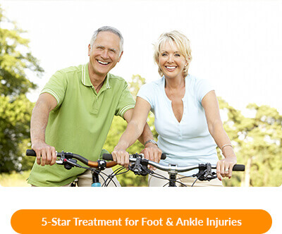 foot & ankle injuries in waxahachie tx