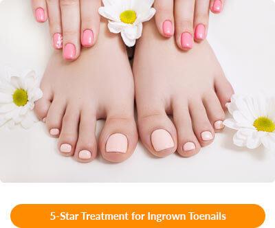 ingrown toenail relief in waxahachie tx