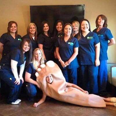 waxahachie podiatry team