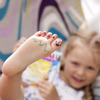 pediatric foot care corsicana